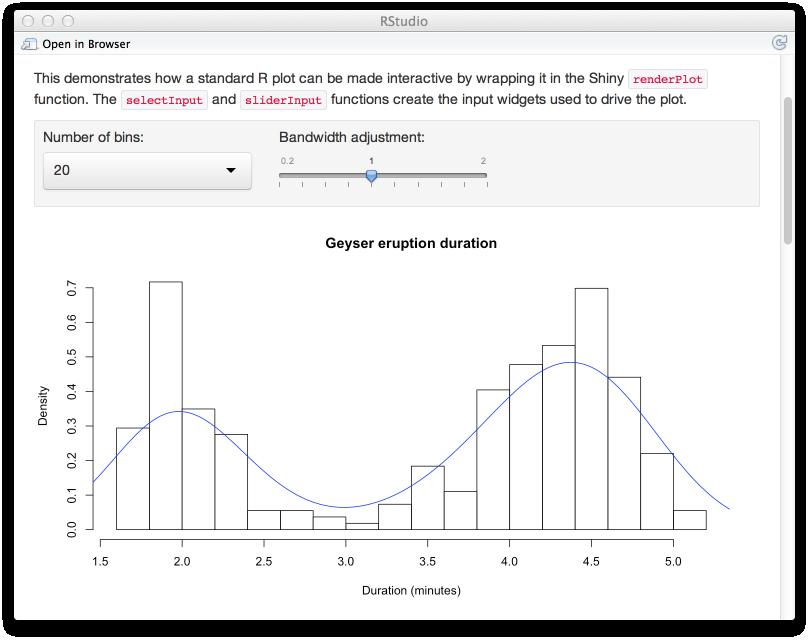interactive documents, Presentation templates